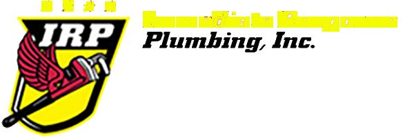 Immediate Response Plumbing Logo Heading